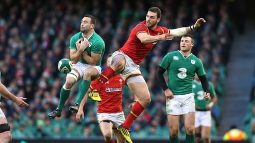 George North has a history of concussion
