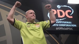 Michael van Gerwen is confident of lifting the PDC World Championship title