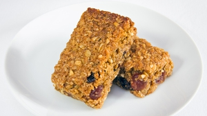 Healthy homemade flapjacks