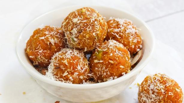 no bake carrott balls