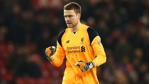 Simon Mignolet is in line to start Monday night's Merseyside derby