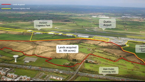 New deal brings Green REIT's total land holding at Horizon Logistics Park to approximately 264 acres