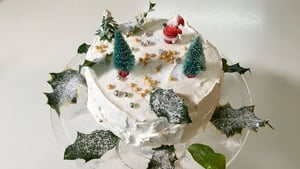 Darina Allen and Rory O'Connell's White Christmas Cake