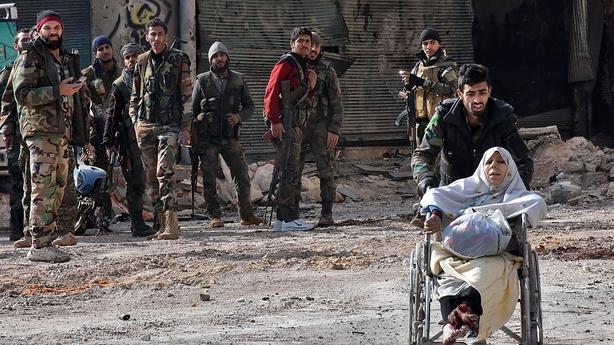 Aleppo retreat