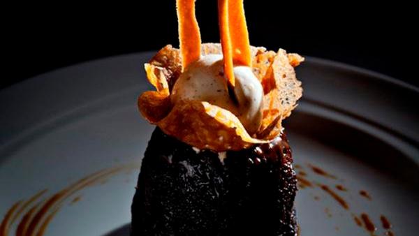 Rachid Zaouia's Sticky Toffee Pudding.