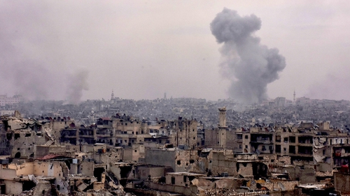 Aleppo has been in anti-government control since 2012