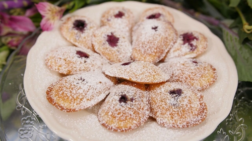 Christmas Madeleines by Eva Lawes