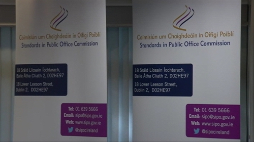 The Standards in Public Office Commission oversees regulation of lobbying