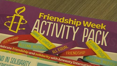 Amnesty ran a 'Friendship Week' programme in primary schools