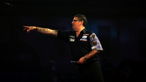 Anderson is seeking a third successive PDC world title