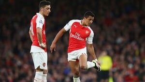 Ozil and Sanchez have both been linked with moves away from Arsenal