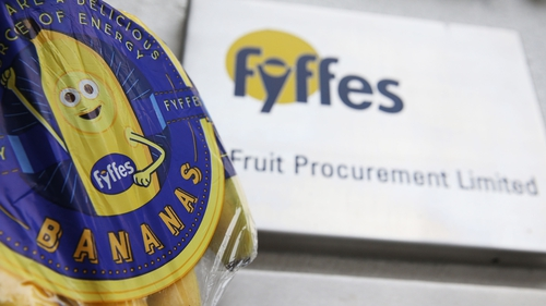 Trading of Fyffes shares on London's AIM and Dublin's ESM will be suspended from tomorrow