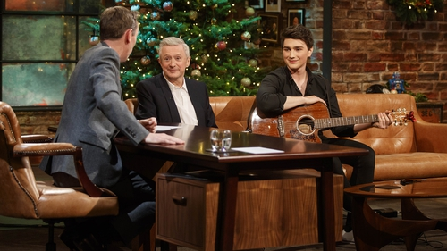 Louis Walsh and Brendan Murray -