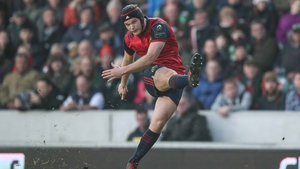 Tyler Bleyendaal captains a much-changed Munster side