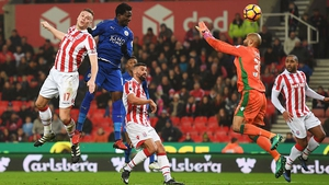 Daniel Amartey equalised late on for Leicester