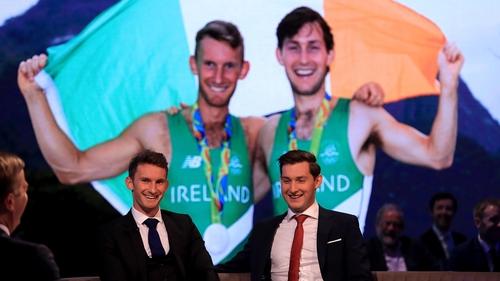 The O'Donovan's won a silver medal at the Rio Games