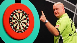Michael van Gerwen is up against Cristo Reyes next