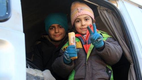 Syrians have been evacuated from the last rebel-held pockets of Syria's northen city of Aleppo