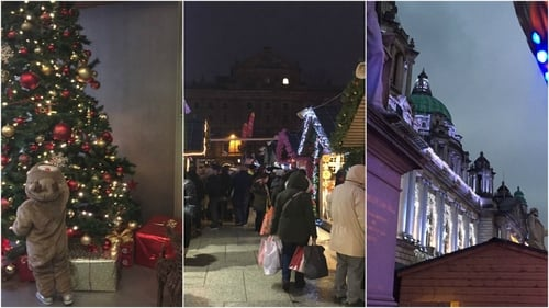 The Christmas Market in Belfast keeps getting better and better and is well worth a visit, especially with the upturn in the Euro.