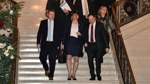 Arlene Foster lashed out at her critics