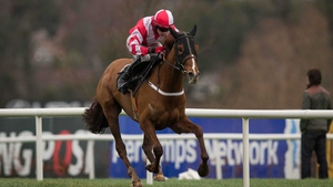 Acapella Bourgeois winning the Maiden Hurdle at Leopardstown last year
