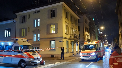 Swiss authorities have identified the man who opened fire in a Muslim prayer hall yesterday