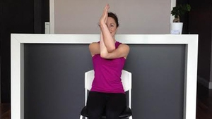 Day 4 - Tree Pose (Vrksasana).