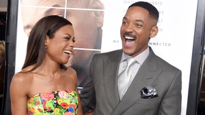 Collateral Beauty co-stars Naomie Harris and Will Smith