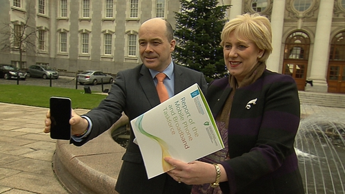 The final report of the Mobile Phone and Broadband Taskforce was presented to Cabinet by Ministers Denis Naughten and Heather Humphreys