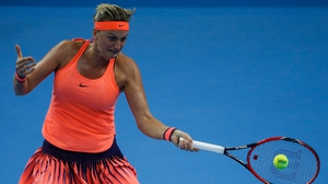 Petra Kvitova is still recovering from a knife attack