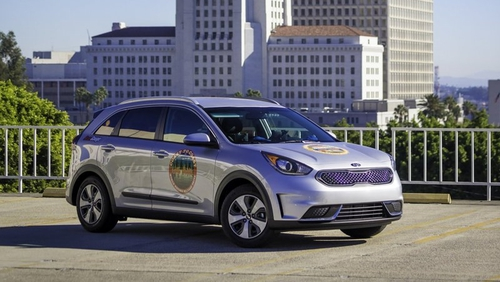 The Kia Niro managed to use just 3.07 litres of fuel per 100 kilometres on road trip across America