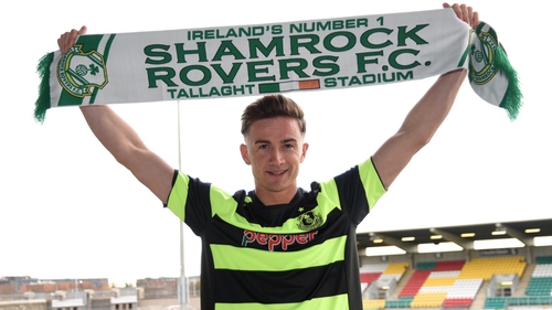Ronan Finn is heading back to Tallaght after two years with Dundalk