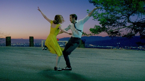 Emma Stone and Ryan Gosling in La La Land, top of our must-see list for 2017
