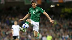 Keith Andrews won 35 Republic of Ireland caps and was Player of the Year in 2012