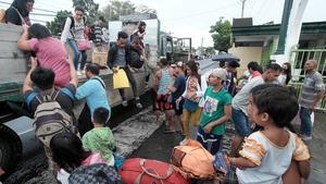 Thousands evacuated coastal areas ahead of Nock-Ten