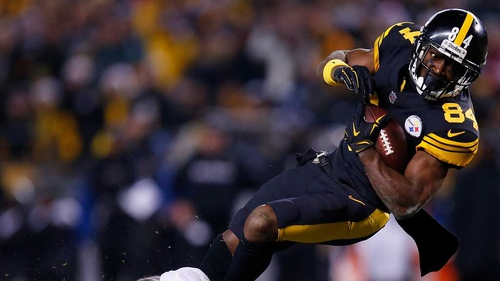 Antonio Brown's touchdown edged the Pittsburgh Steelers into the play-offs