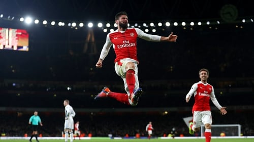 Olivier Giroud looks set to leave Arsenal on the final day of the transfer window
