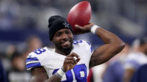 Dez Bryant provided a terrific touchdown pass for Jason Witten