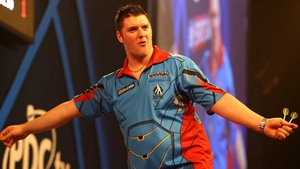 Daryl Gurney: 'I was lucky to get through at the end.'