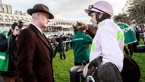 Ruby Walsh will don the Ricci silks when he rides Karalee in the Irish Stallion Farms European Breeders Fund Mares Champion Hurdle