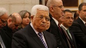 Palestinian leader Mahmoud Abbas