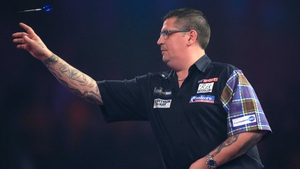 Gary Anderson is bidding for a third consecutive world title