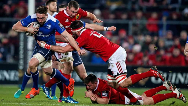 Jack Conan in action against Munster on St Stephens Day