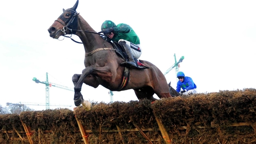 Footpad, pictured above, will be amining to become the first Irish-trained winner of the Betfair Hurdle since Essex in 2005
