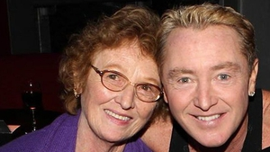 Michael Flatley and his late Mum Eilish