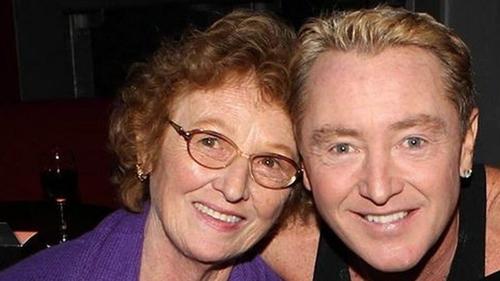 Michael Flatley and his late Mum Eilish
