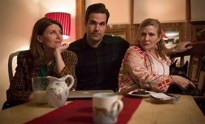 Catastrophe stars Sharon Horgan, Rob Delaney and the late Carrie Fisher