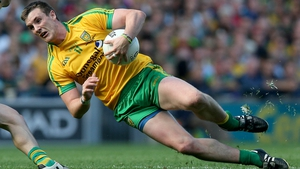 Leo McLoone in action for Donegal