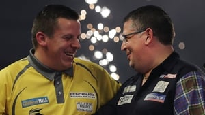 Gary Anderson was pushed all the way by Dave Chisnall