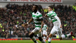 Moussa Dembele equalises for Celtic